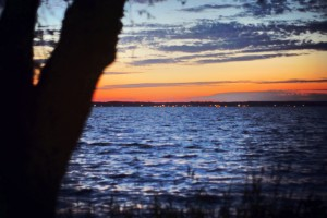Sonnenuntergang Urlaub am Steinhuder Meer